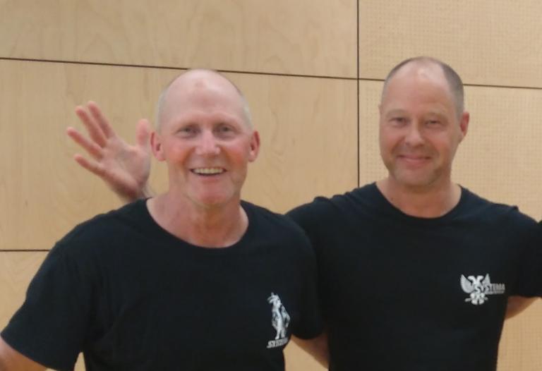 Instructeurs team zelfverdedigingscursus voor vrouwen